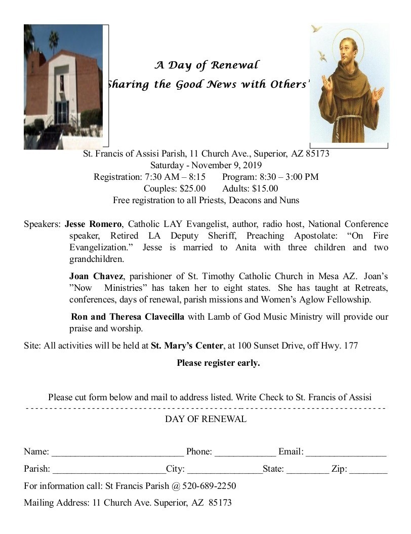 A Day Of Renewal Flyer