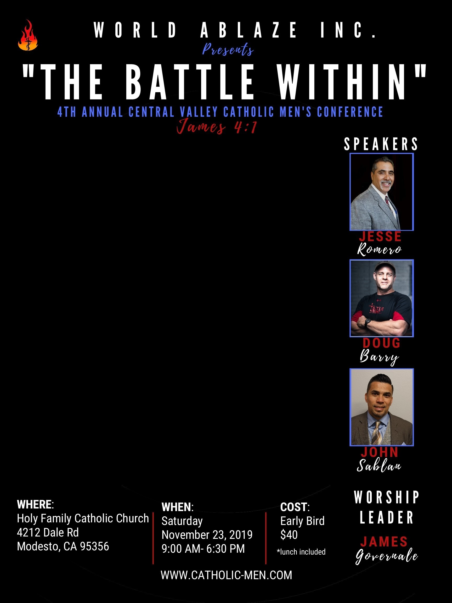 Final The Battle Within Mens Conference   Modesto