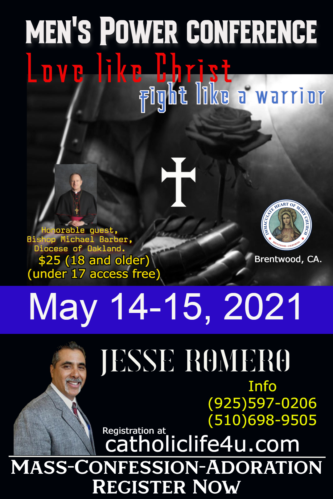 Mens Conference Flyer. May 14 15 2021