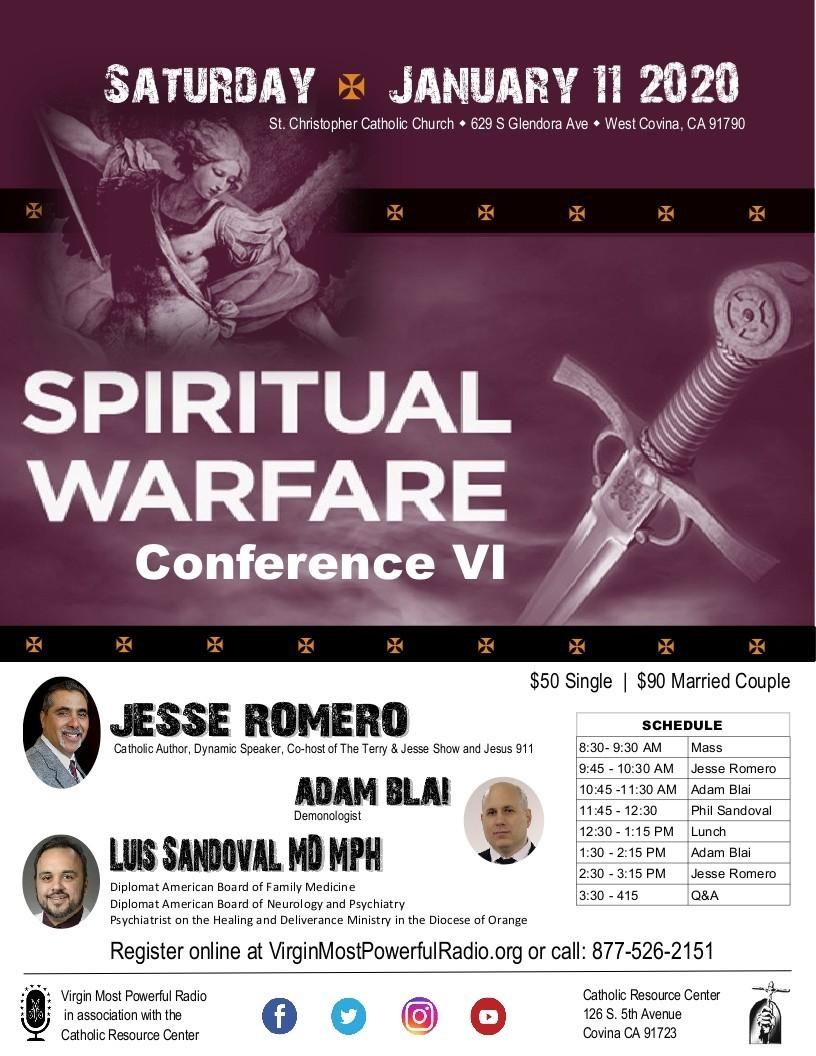 Spiritual Warfare 2020