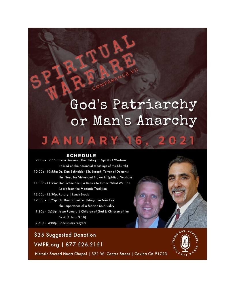 Spiritual Warfare Conference Vii Flyer