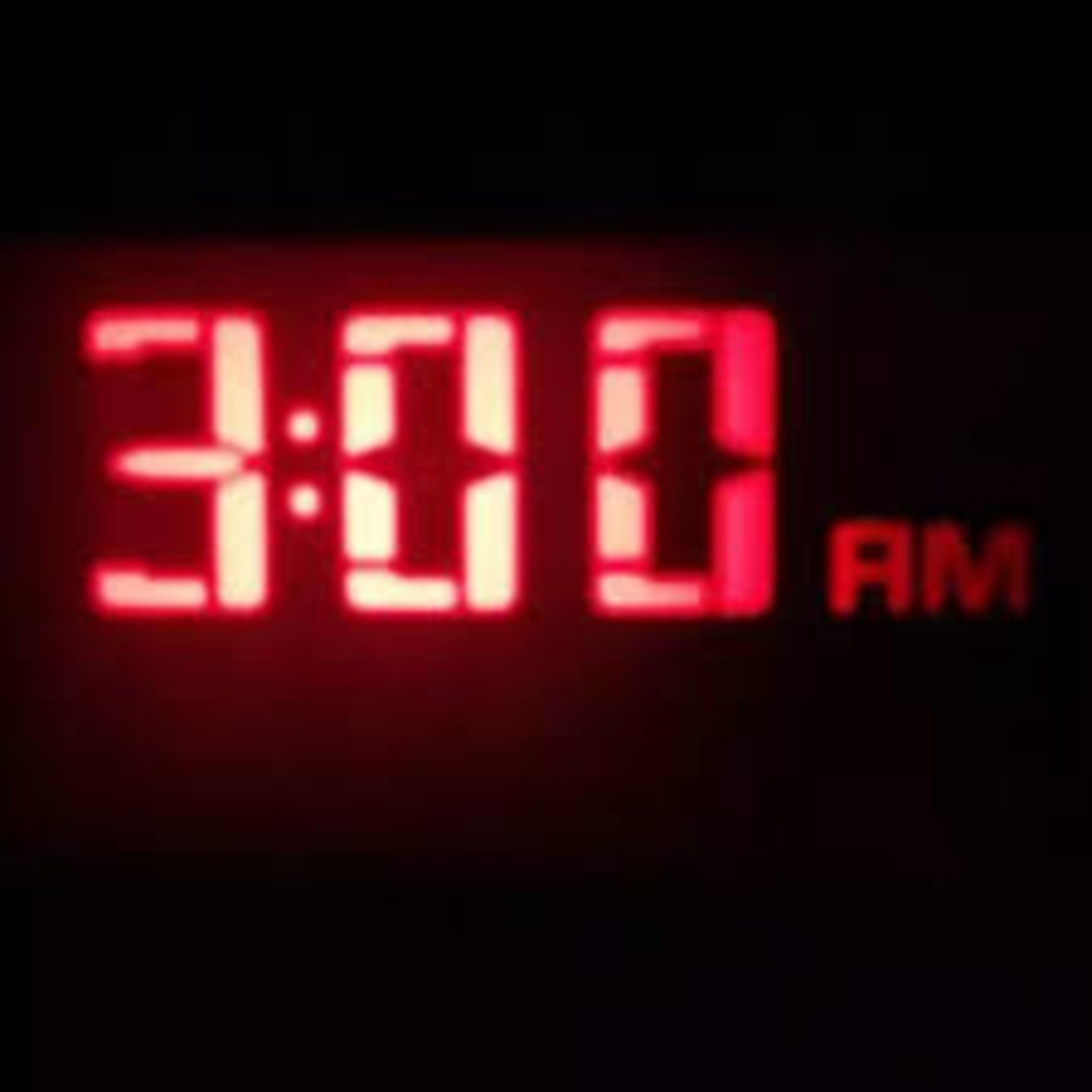 3 am Wake up call to pray!   Jesse Romero