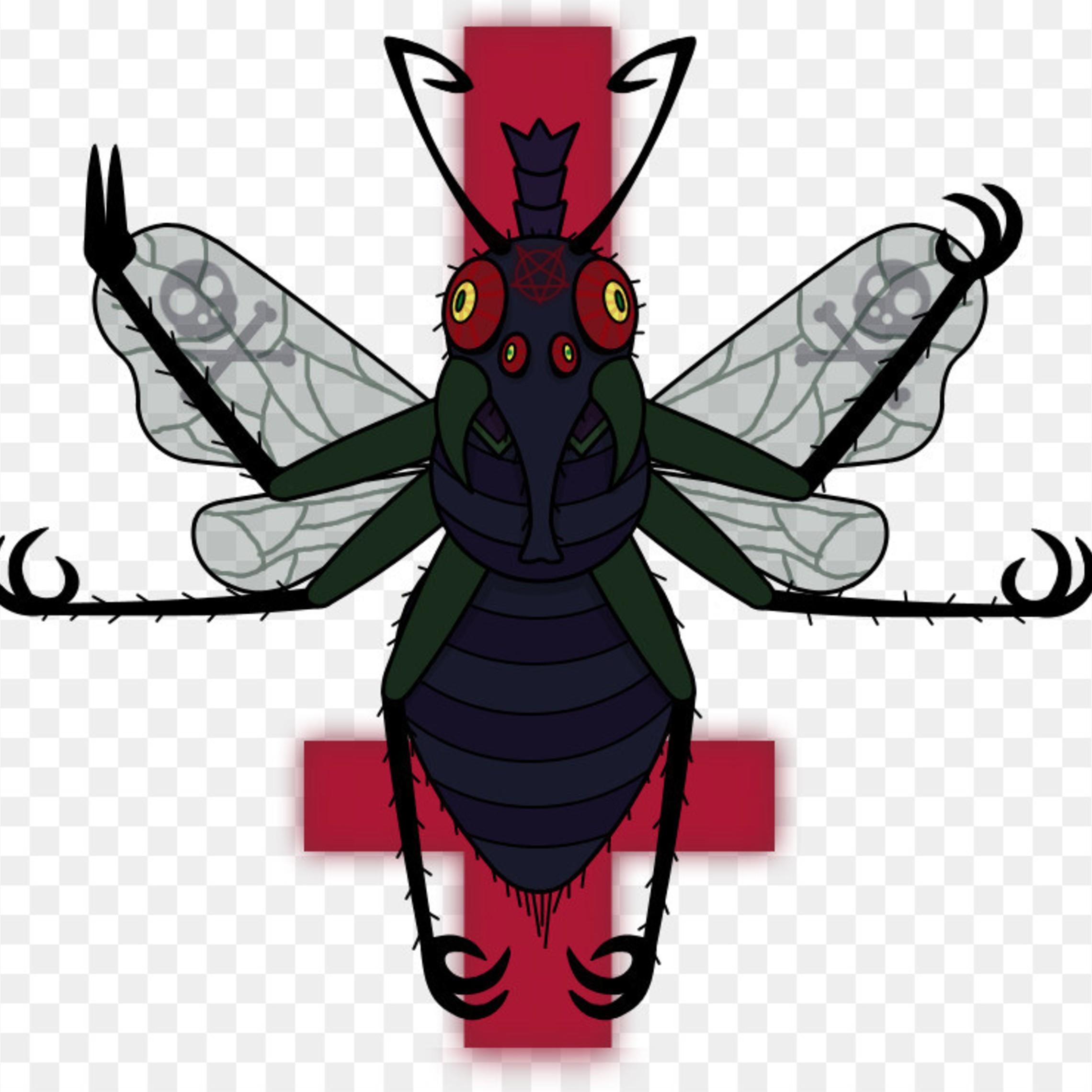 Beelzebub Lord Of The Flies Fly Devil Demon 5aeea8b12b1724.4720108315255901931765