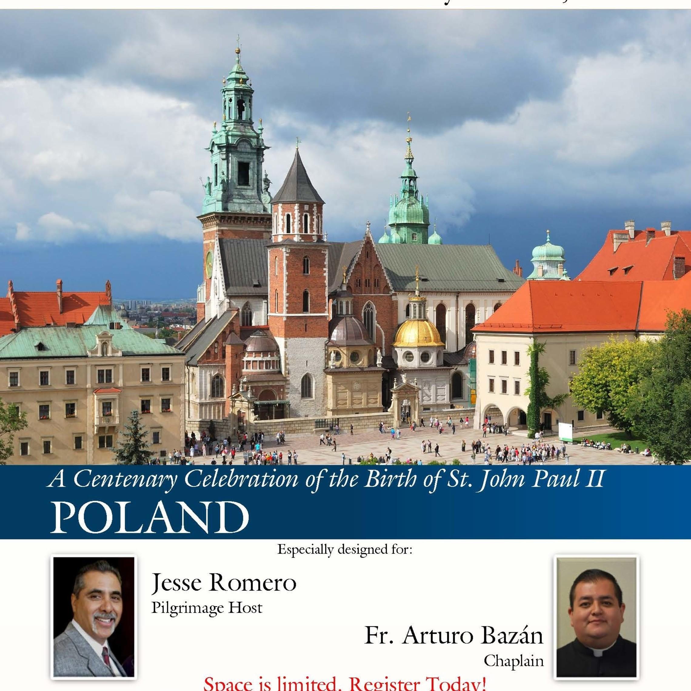 Brochure   Poland   Jesse Romero Pilgrimage Page 01