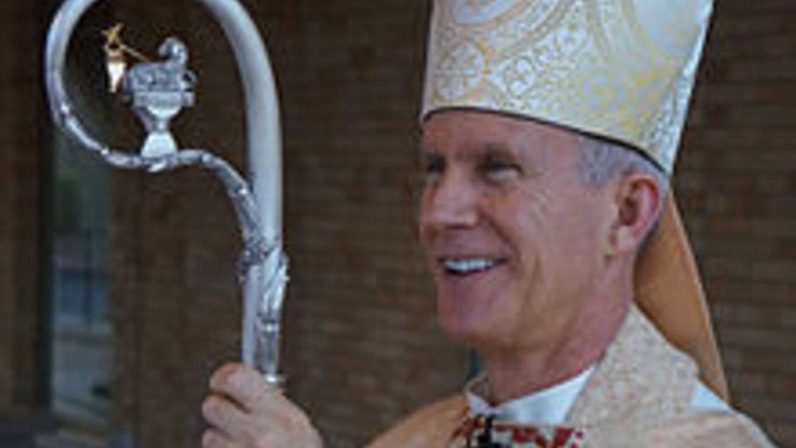Bishop Joseph Strickland Easter Vigil 2013