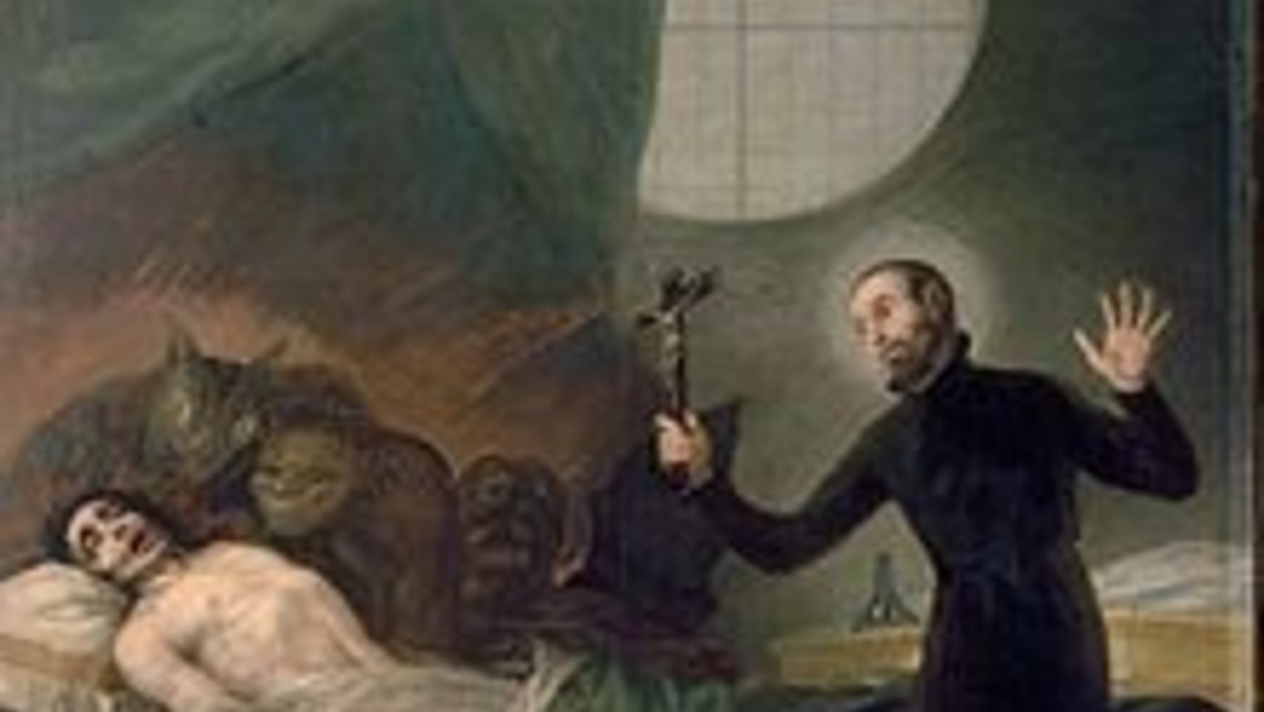 Exorcism By A Priest