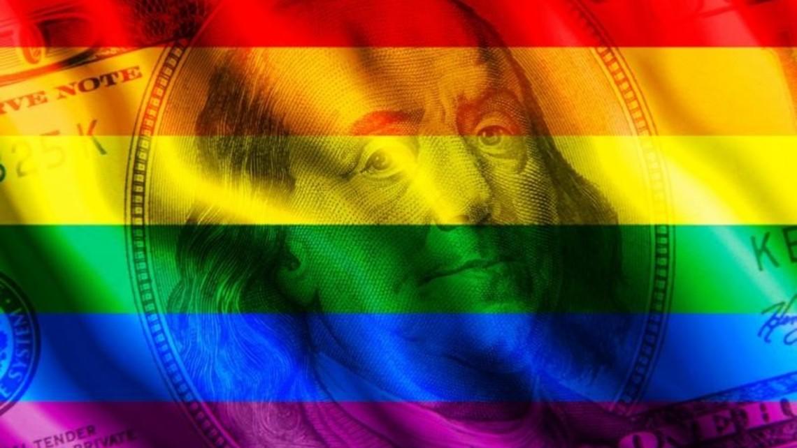 Gay Hundred Dollar Bill 810 500 75 S C1
