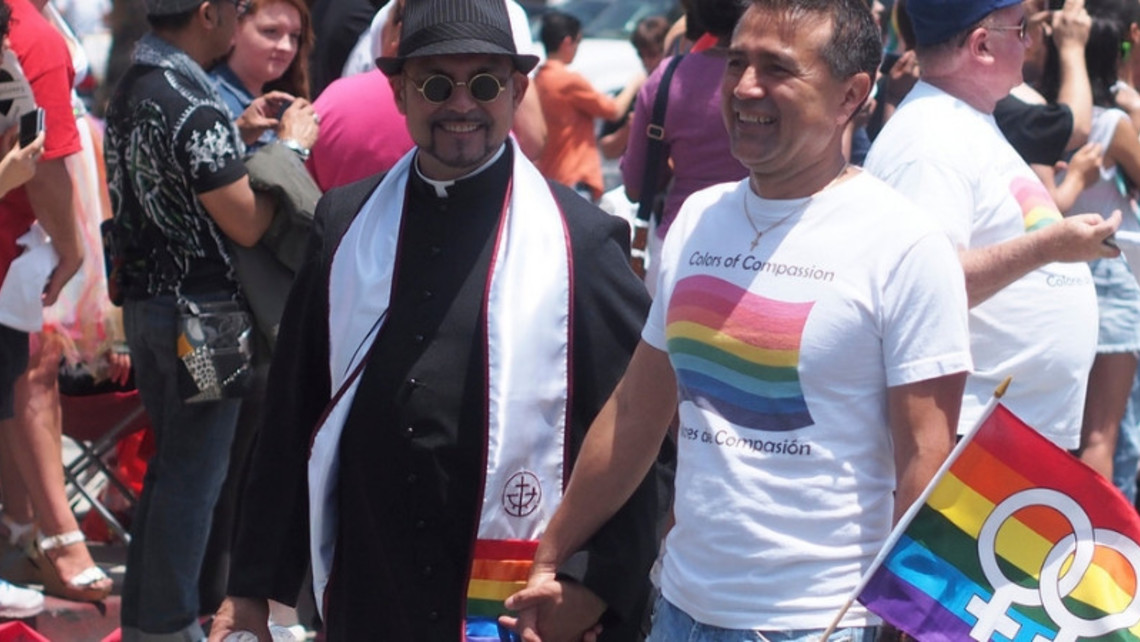 Gay Priest With Lover