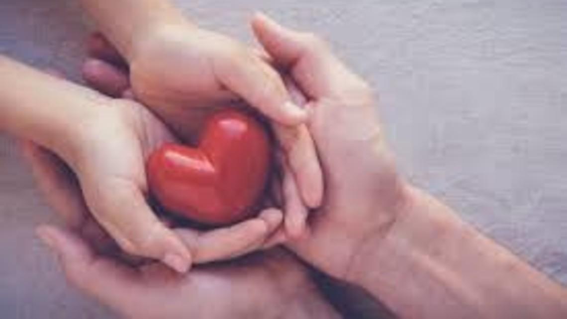 Heart Prayer Hands