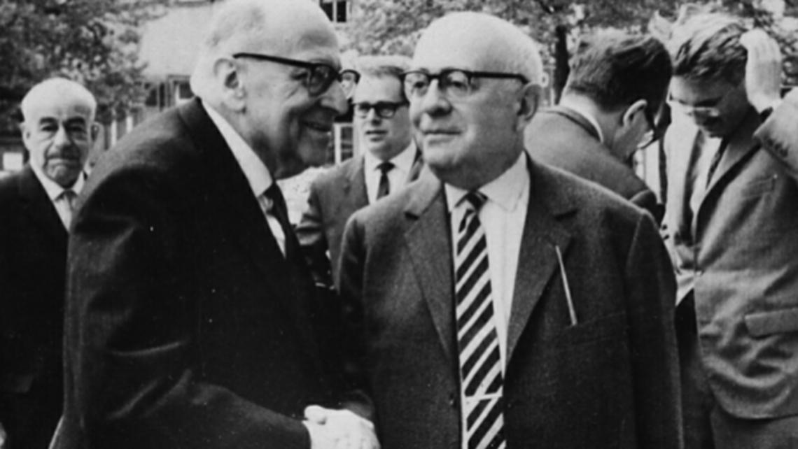 Horkheimer Adorno Habermasbyjeremyjshapiro 1964 Heidelberg 660x350 1448002376