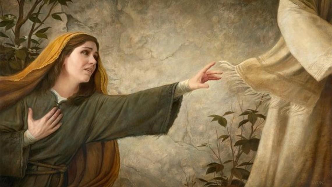 Jesus Heals The Woman