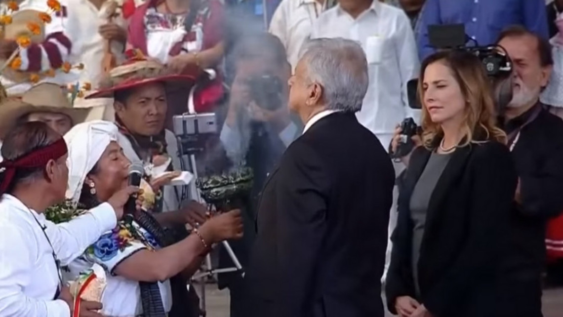 Mexico President Pagan Ritual