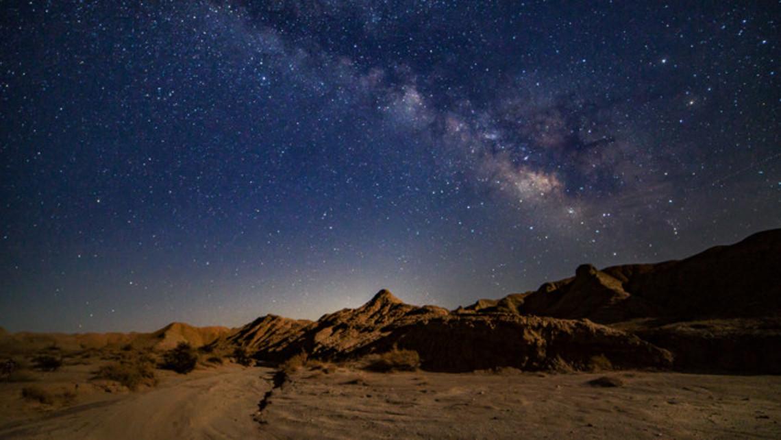 Midnight In The Desert