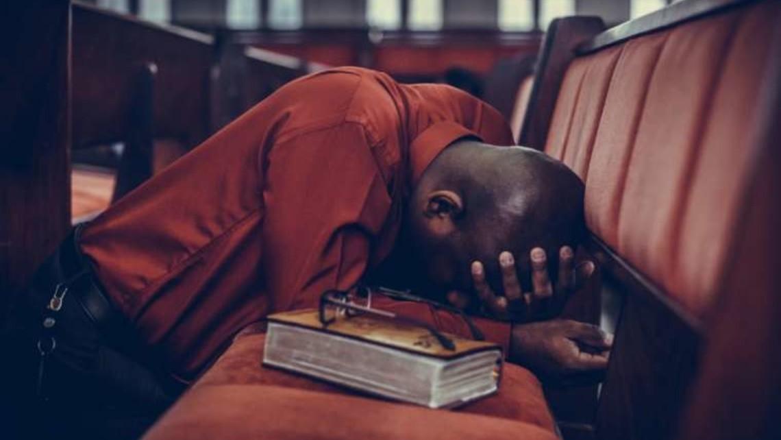 Prayer In Church Resized