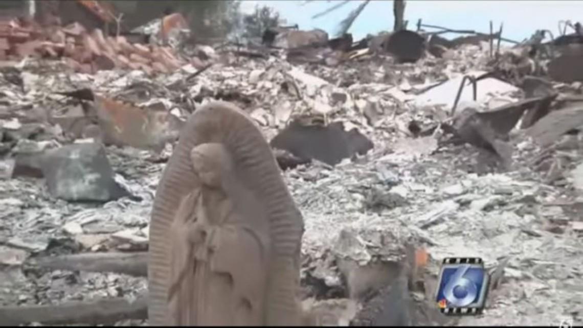 Statue Survives Hurricane Harvey