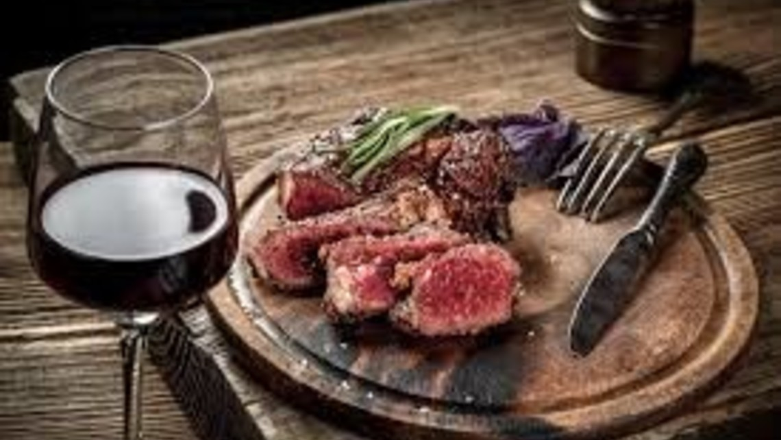 Steak And Wine